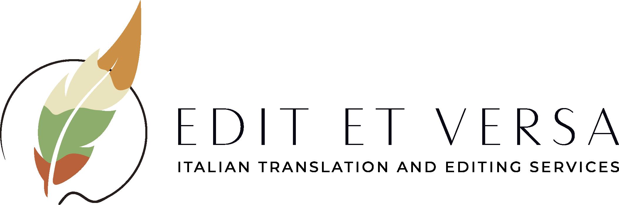 Logo_EditetVersa_italian translations for marketing